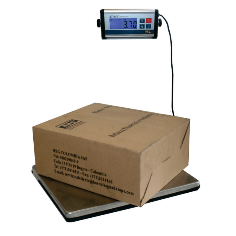Báscula de piso portátil /pesa-cajas-AEC-300
