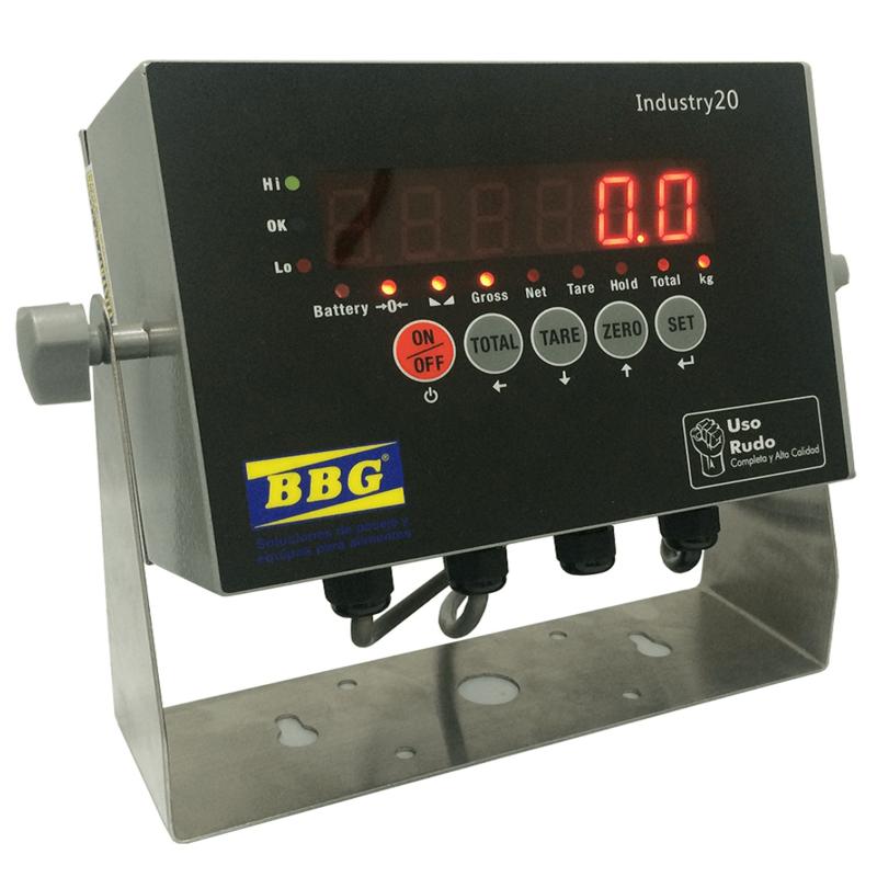 Indicador industrial metálico-INDUSTRY-20-BBG